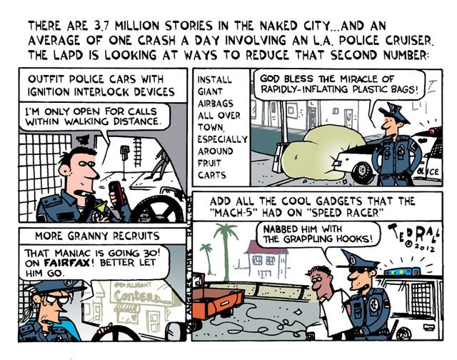 Crashing Cop Cars
