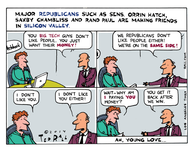 GOP Silicon Valley