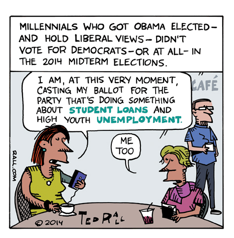 Millennials Election 2014