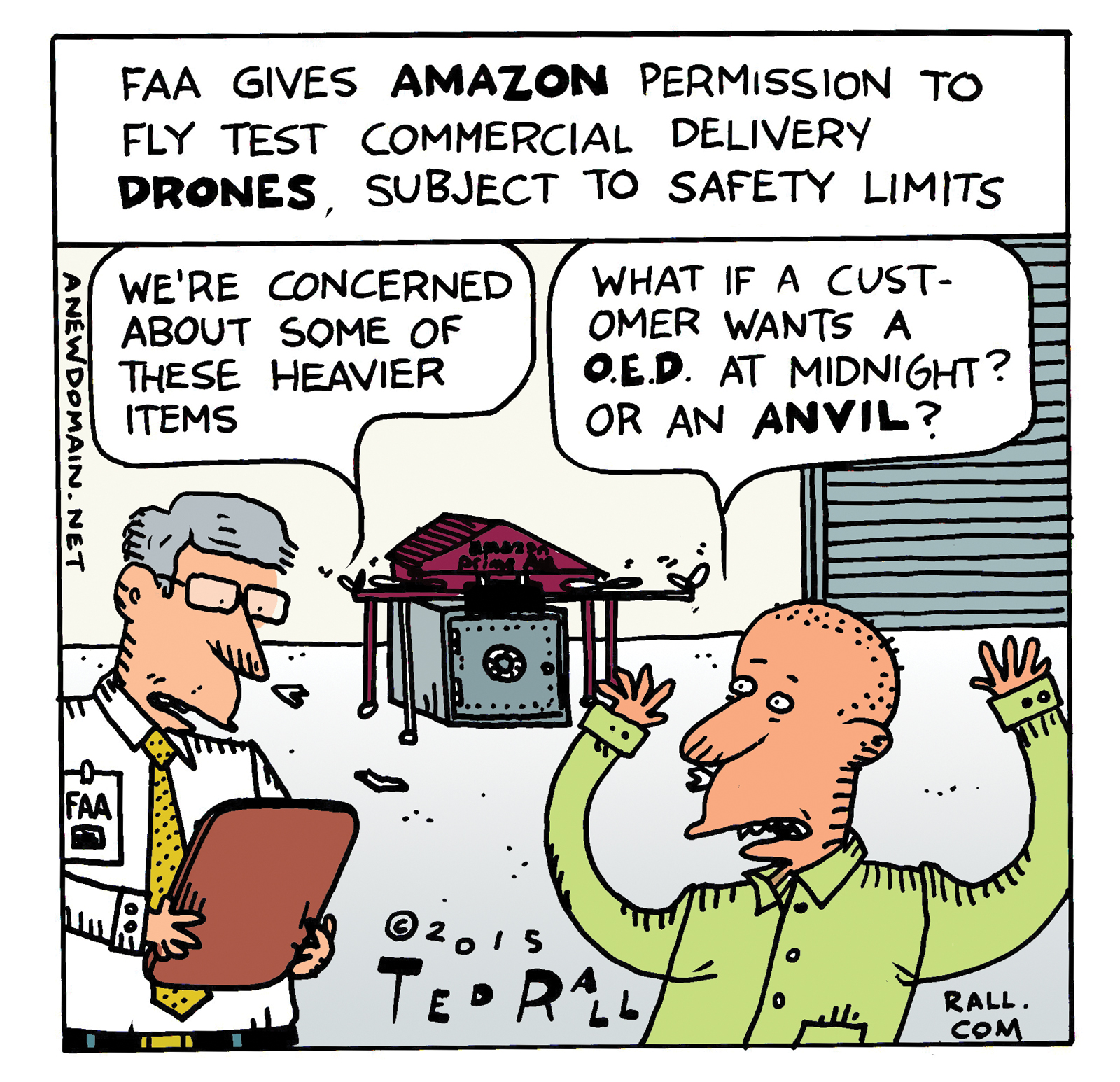Amazon Drone Tests