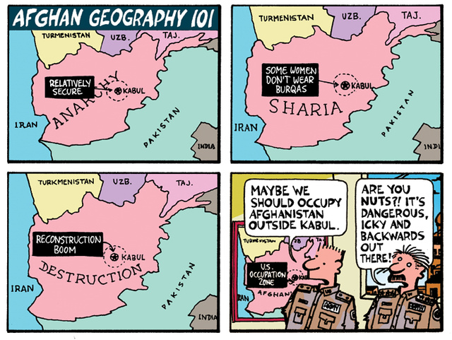Afghan Geography 101