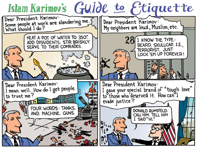 Karimov's Guide to Etiquette